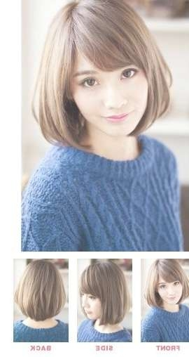 Best 25+ Oval Face Haircuts Short Ideas On Pinterest | Oval Face With Bob Haircuts With Bangs For Oval Faces (View 8 of 15)
