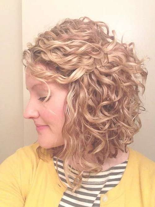 Best 25+ Perms For Short Hair Ideas On Pinterest | Perm On Short Pertaining To Bob Hairstyles For Naturally Curly Hair (View 3 of 15)