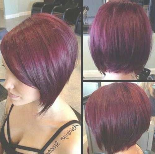 Best 25+ Red Bob Hair Ideas On Pinterest | Red Long Bob, Red Bob Intended For Bob Hairstyles And Colors (View 4 of 15)