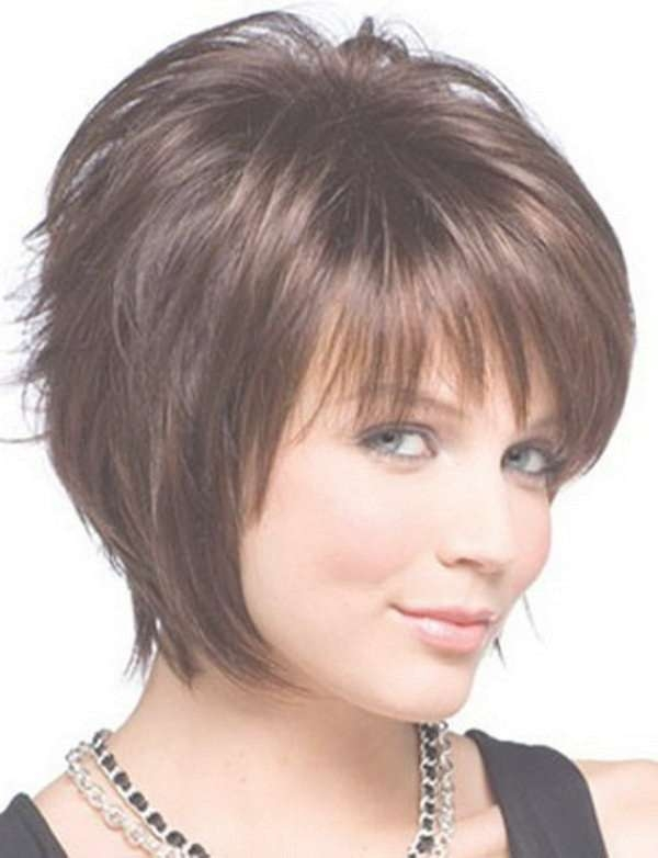 Best 25+ Round Face Bob Ideas On Pinterest | Short Hair Cuts For In Layered Bob Haircuts For Round Faces (View 4 of 15)