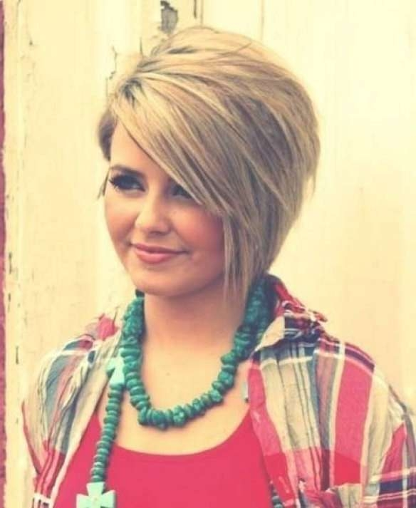 Best 25+ Round Face Bob Ideas On Pinterest | Short Hair Cuts For Inside Layered Bob Haircuts For Round Faces (View 7 of 15)