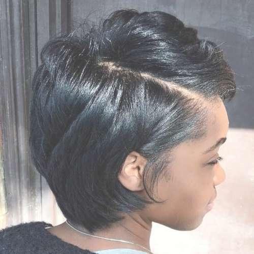 Best 25+ Short Black Hairstyles Ideas On Pinterest | Short Cuts With Short Bob Hairstyles For African American Hair (View 14 of 15)
