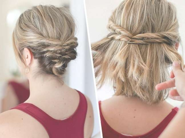 Explore Gallery Of Bob Hairstyles Updo Styles Showing 3 Of 15 Photos