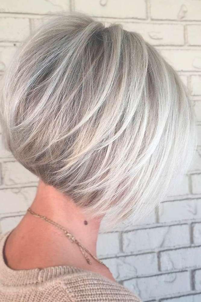 Best 25+ Short Grey Haircuts Ideas On Pinterest | Grey Hair Short Throughout Gray Bob Haircuts (View 9 of 15)