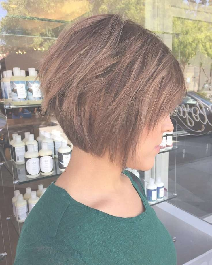 Best 25+ Short Layered Bob Haircuts Ideas On Pinterest | Layered In Layered Short Bob Hairstyles (View 15 of 15)