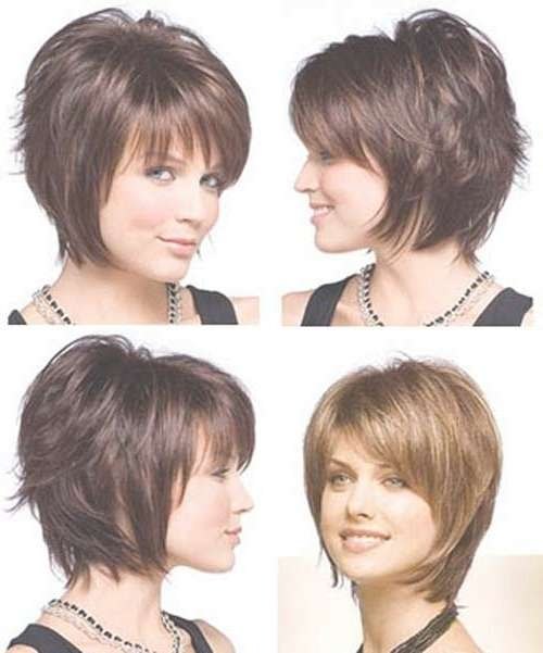Best 25+ Short Layered Bob Haircuts Ideas On Pinterest | Layered In Short Bob Hairstyles With Bangs And Layers (View 12 of 15)