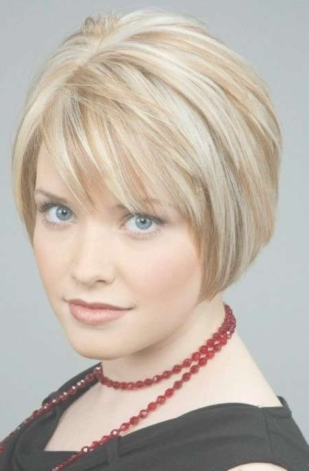 Best 25+ Short Layered Bob Haircuts Ideas On Pinterest | Layered Inside Bob Haircuts With Bangs For Fine Hair (View 7 of 15)