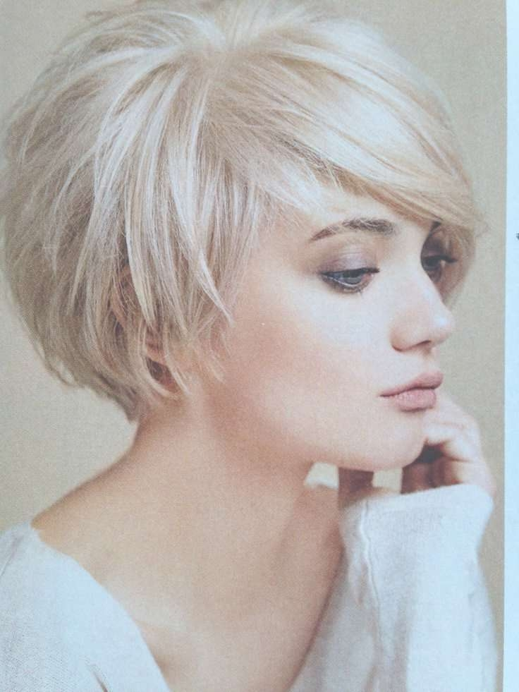 Best 25+ Short Layered Bob Haircuts Ideas On Pinterest | Layered Throughout Short Bob Hairstyles With Bangs And Layers (View 9 of 15)