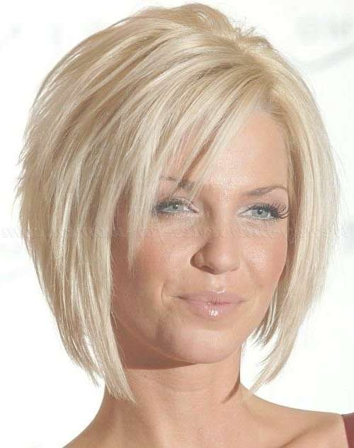 Best 25+ Short Layered Bob Haircuts Ideas On Pinterest | Layered With Regard To Layered Short Bob Hairstyles (View 6 of 15)