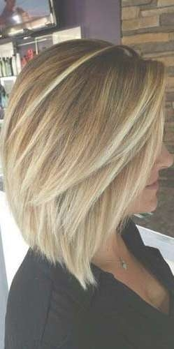 Best 25+ Shoulder Length Bobs Ideas On Pinterest | Shoulder Length Pertaining To Medium Length Bob Hairstyles (View 2 of 15)