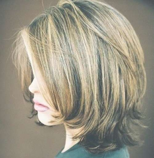 Best 25+ Shoulder Length Bobs Ideas On Pinterest | Shoulder Length Throughout Medium Length Bob Hairstyles (View 12 of 15)