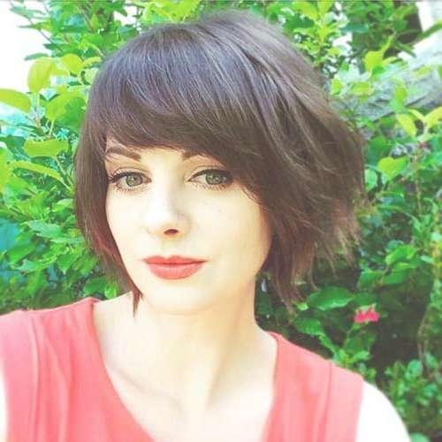 Best 25+ Side Bangs Bob Ideas On Pinterest | Bob With Side Fringe For Bob Haircuts With Side Bangs (View 13 of 15)