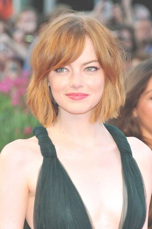 Best 25+ Side Bangs Bob Ideas On Pinterest | Bob With Side Fringe Intended For Bob Hairstyles With Side Bangs (View 15 of 15)