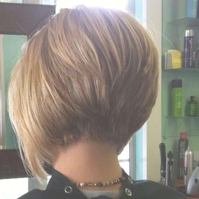 Best 25+ Stacked Bob Haircuts Ideas On Pinterest | Bobbed Haircuts Throughout Bob Haircuts Back And Front View (View 3 of 15)