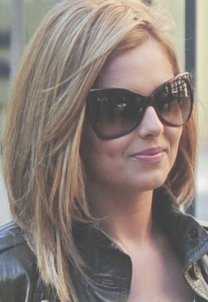 Best 25+ Thick Hair Bobs Ideas On Pinterest   Long Bobs, Long Regarding Bob Haircuts For Round Faces Thick Hair (View 4 of 15)