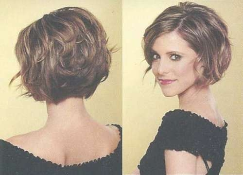 Best 25+ Thick Wavy Haircuts Ideas On Pinterest | Short Thick Wavy Pertaining To Bob Haircuts For Women With Thick Hair (View 2 of 15)