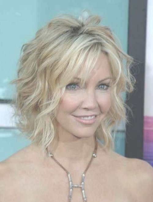 Best 25+ Wavy Bob Hair Ideas On Pinterest   Wavy Bob Long, Wavy Intended For Layered Curly Bob Haircuts (View 11 of 15)