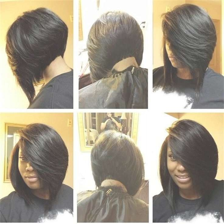 Best 25+ Weave Bob Hairstyles Ideas On Pinterest   Sew In Bob With Regard To Layered Bob Haircuts Black Hair (View 13 of 15)