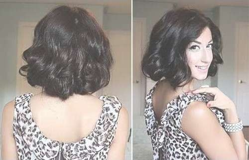 Best Bob Cuts For Curly Hair | Short Hairstyles 2016 – 2017 | Most Regarding Long Curly Bob Haircuts (View 14 of 15)