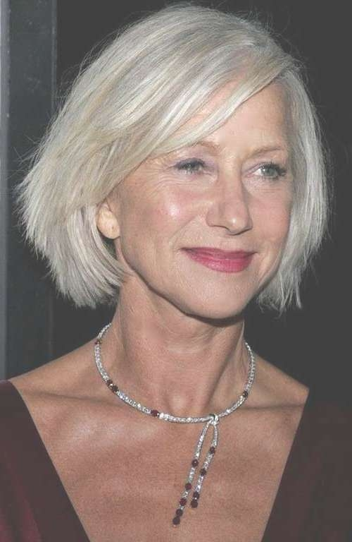 Best Bob Hairstyles For Older Women | Short Hairstyles 2016 – 2017 Inside Bob Haircuts For Mature Ladies (View 5 of 15)