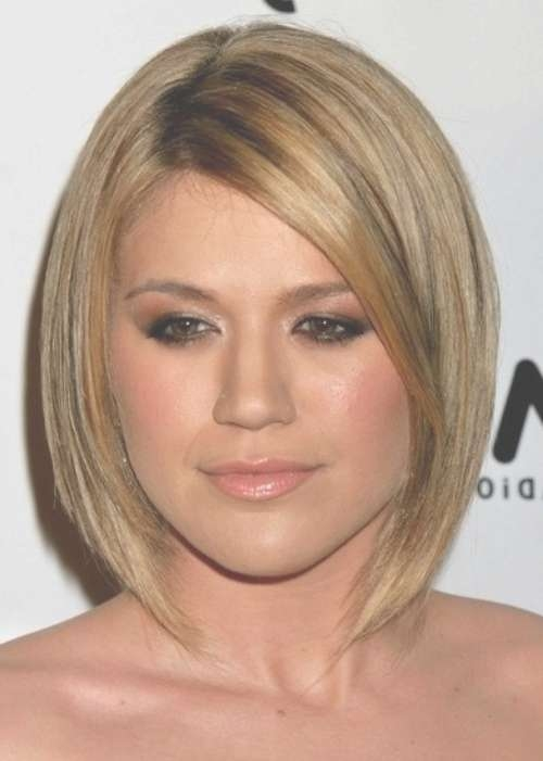Best Bob Hairstyles For Round Faces – Hairstyle Fo? Women & Man Inside Bob Hairstyles Round Faces (View 13 of 15)