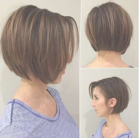 Best Short Haircuts For Straight Hair – Hairstyle Fo? Women & Man Throughout Layered Short Bob Hairstyles (View 13 of 15)