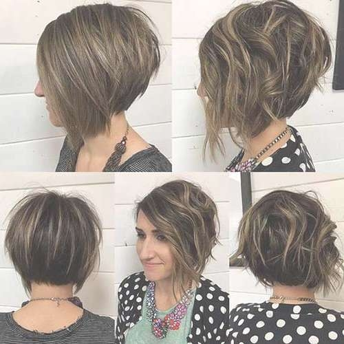 Displaying Gallery Of Stacked Bob Haircuts View 15 Of 15 Photos
