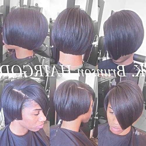 Black Girl Bob Hairstyles 2014 – 2015 | Short Hairstyles 2016 Inside Short Bob Hairstyles For African American Hair (View 5 of 15)