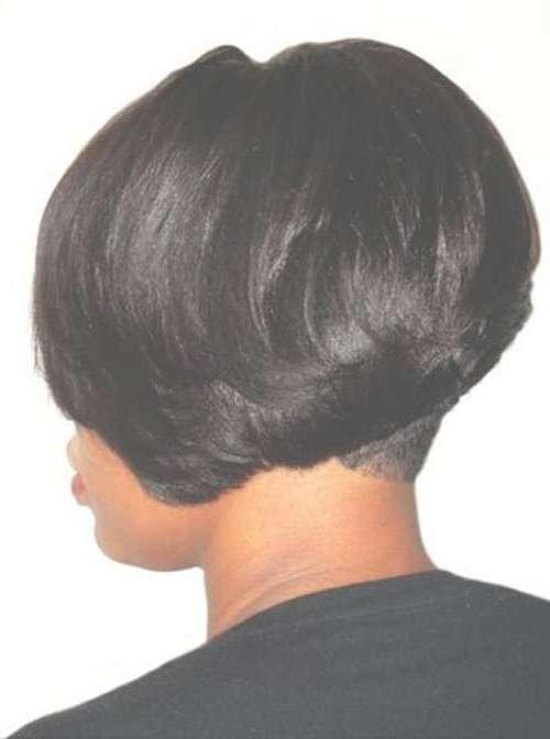 Black Girl Bob Hairstyles 2014 – 2015   Short Hairstyles 2016 Pertaining To Layered Bob Haircuts Black Hair (View 5 of 15)