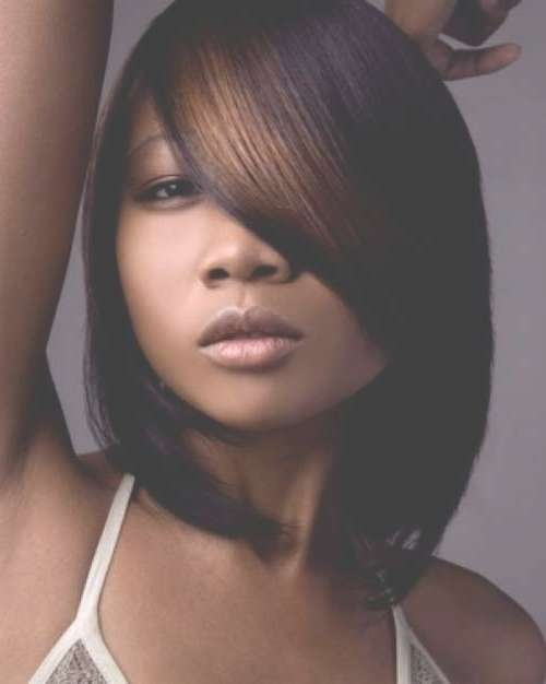 Black Girl Bob Hairstyles 2014 – 2015 | Short Hairstyles 2016 With Regard To Black Bob Haircuts With Bangs (View 13 of 15)
