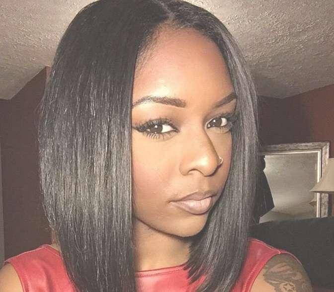 Black Girl Bob Hairstyles 2016 9 | African American Hairstyles In Black Girl Bob Haircuts (View 4 of 15)