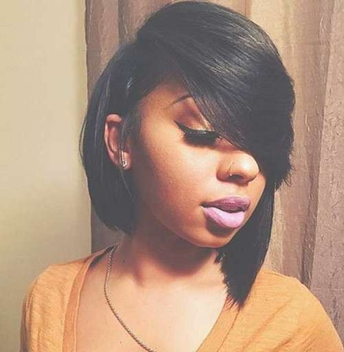 Black Girl Bun Hairstyles ~ Hair Is Our Crown Throughout Bob Haircuts For Black Girls (View 14 of 15)