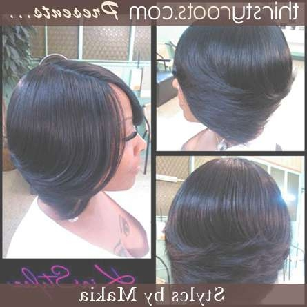Black Layered Bob Hairstyles – Hairstyle Fo? Women & Man Regarding Black Layered Bob Haircuts (View 11 of 15)
