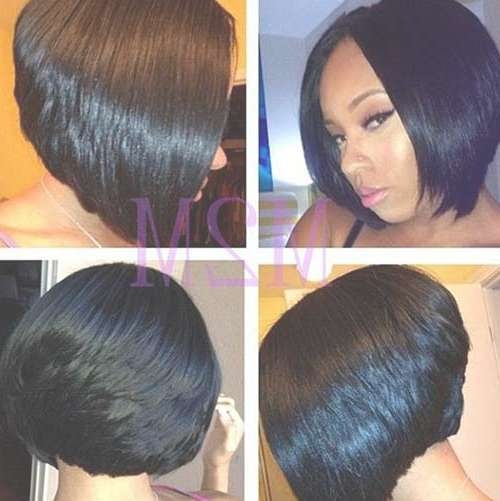 Black Women Bob Haircuts 2015 2016 | Bob Hairstyles 2017 – Short In Black Bob Hairstyles (View 2 of 15)