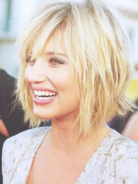 Blonde Layered Bob Hairstyle | Short Hairstyles 2016 – 2017 | Most Throughout Blonde Layered Bob Hairstyles (View 3 of 15)