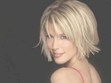 Blonde Short Hairstyles For Women | Short Hairstyles 2016 – 2017 For Bob Haircuts With Bangs For Fine Hair (View 6 of 15)