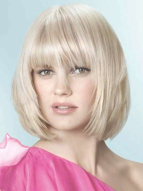 Bob Cuts For Round Faces | Pinkous With Regard To Bob Haircuts With Bangs For Round Faces (View 14 of 15)
