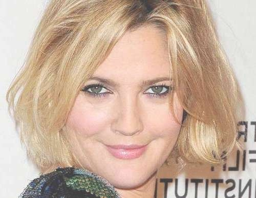 Bob Cuts For Round Faces | Short Hairstyles 2016 – 2017 | Most Throughout Drew Barrymore Bob Hairstyles (View 3 of 15)