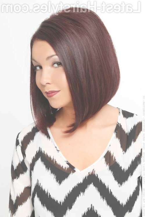 Bob Cuts For Round Faces   Short Hairstyles 2016 – 2017   Most Within Bob Hairstyles Round Faces (View 6 of 15)