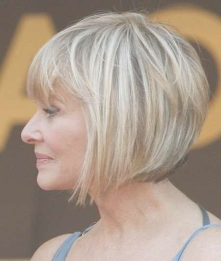 2018 Latest Bob Haircuts For Older Ladies