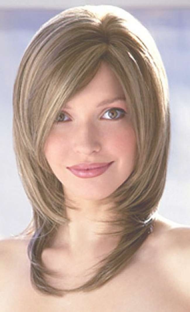 Bob Haircuts : Medium Layered Bob Hairstyles For Women With Side With Regard To Layered Medium Bob Haircuts (View 7 of 15)