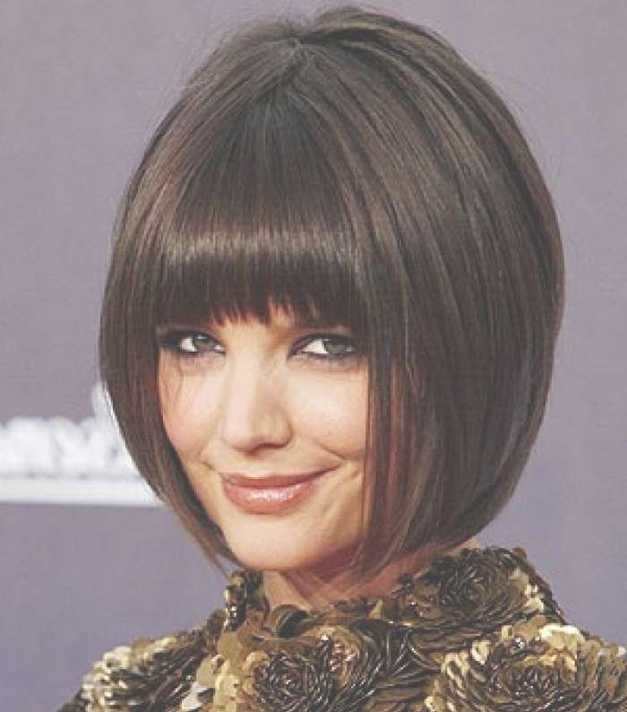 Bob Haircuts With Bangs 2014 – Hairstyle Fo? Women & Man Intended For Bob Hairstyles With Fringes (View 13 of 15)
