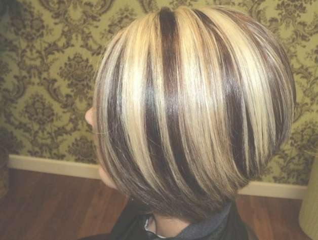 Bob Haircuts With Highlights! Images And Video Tutorial! In Bob Haircuts With Highlights (View 14 of 15)