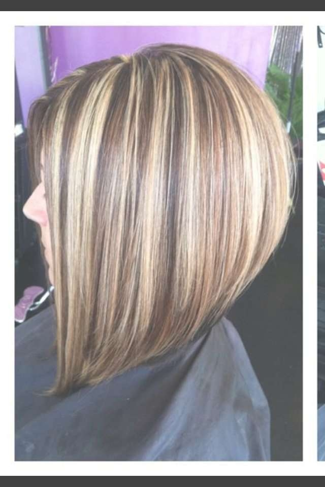 Bob Haircuts With Highlights! Images And Video Tutorial! Within Bob Haircuts With Highlights (View 8 of 15)