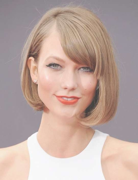 Bob Hairstyles For 2014: Cute Short Blonde Bob Haircut For Thick With Thick Bob Hairstyles (View 11 of 15)