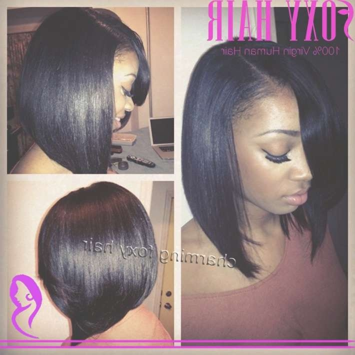 Explore Gallery Of Bob Haircuts African American Women Showing 2 Of