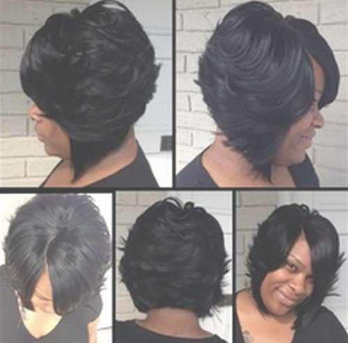 Bob Hairstyles For Black Women   Short Curly <B>Hairstyles For With Regard To Layered Bob Haircuts Black Hair (View 7 of 15)