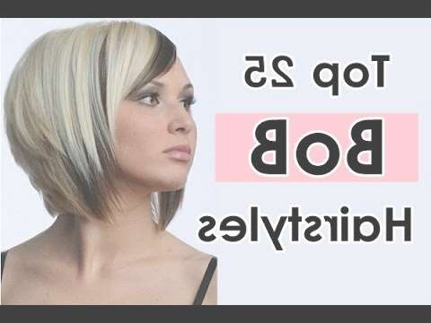 Bob Hairstyles For Long, Short, Thick, Thin, Round Faces With Fine With Regard To Layered Bob Haircuts For Round Faces (View 11 of 15)