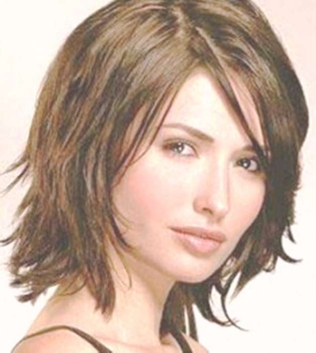 15 Best Collection of Bob Haircuts For Round Faces Thick Hair