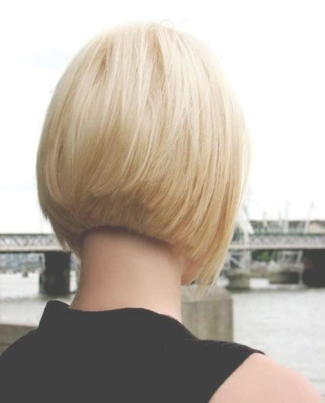 Bob Hairstyles Front And Back View – Hairstyle Fo? Women & Man Regarding Back View Layered Bob Haircuts (View 9 of 15)